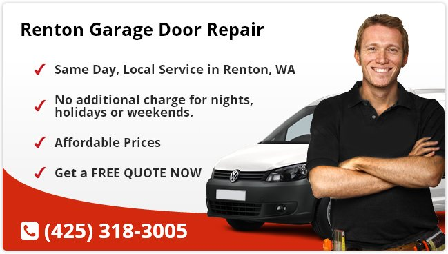 Renton garage door repair renton wa for Garage door repair renton